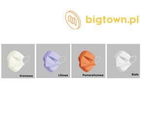 miękkie i przewiewne maseczki bawełniane białe